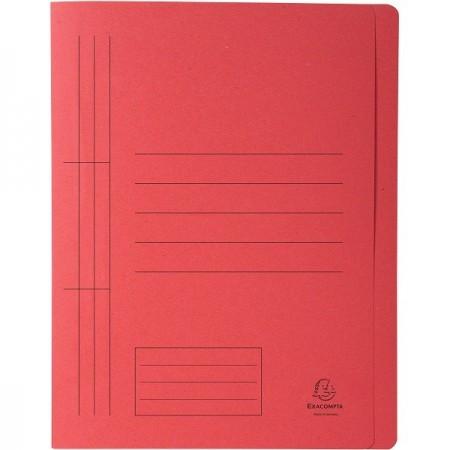 Dosar carton cu sina rosu, EXACOMPTA