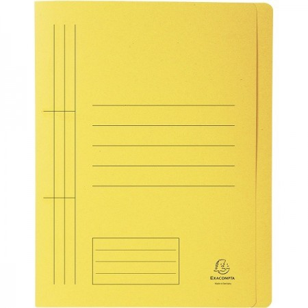 Dosar carton cu sina galben, EXACOMPTA