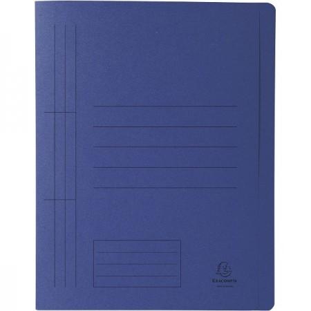 Dosar carton cu sina albastru, EXACOMPTA