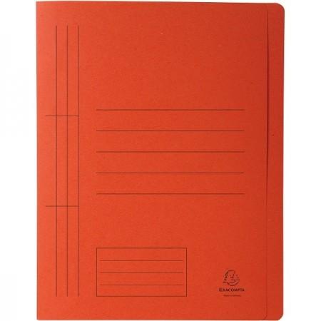 Dosar carton cu sina portocaliu, EXACOMPTA