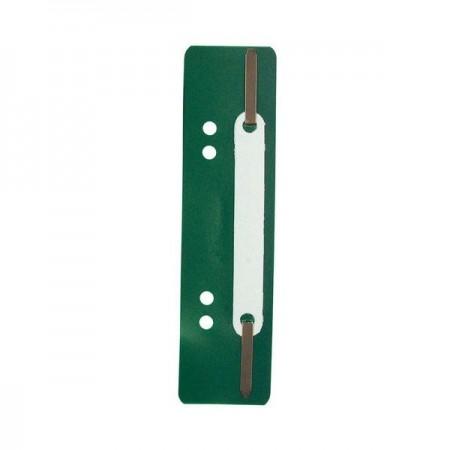 Alonja indosariere plastic verde 25 buc/set, EXACOMPTA