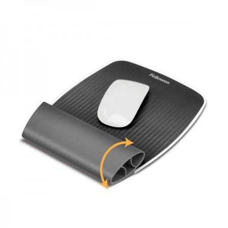 Suport ergonomic pentru incheieturi gri, FELLOWES I-Spire