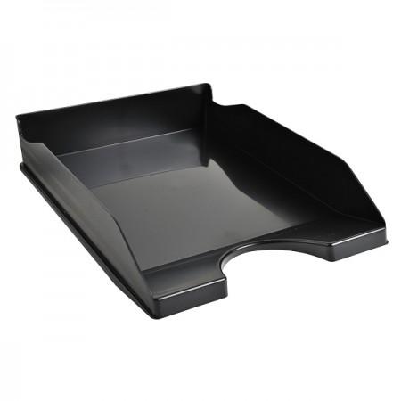 Tavita documente plastic neagra, EXACOMPTA Eco