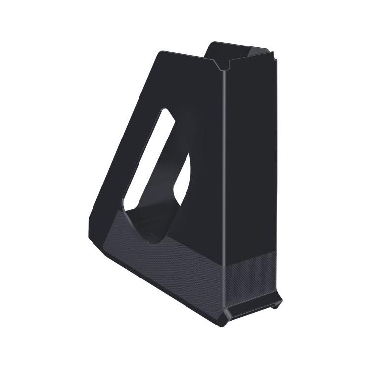 Suport vertical documente plastic negru, ESSELTE Europost