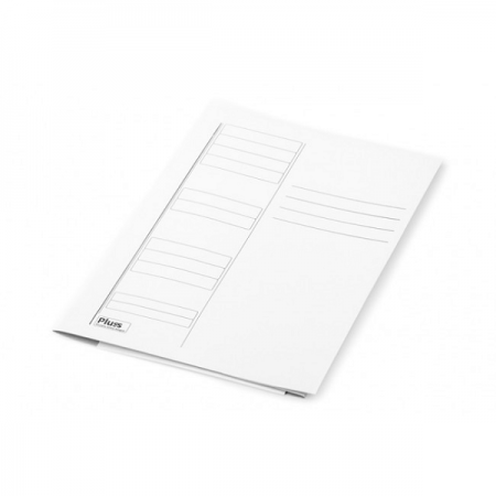 Dosar carton plic alb
