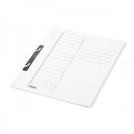 Dosar carton de incopciat 1/1 alb