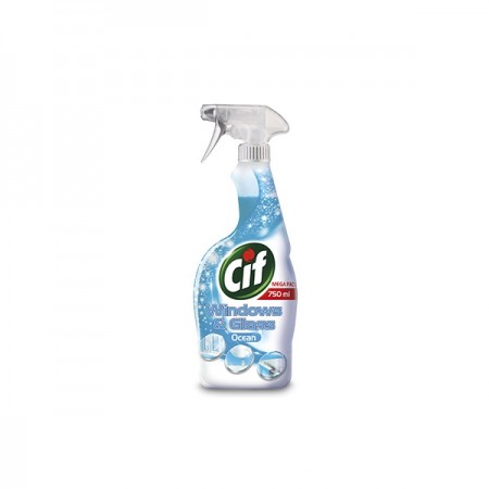 Detergent lichid pentru geamuri 750ml, CIF Windows & Glass