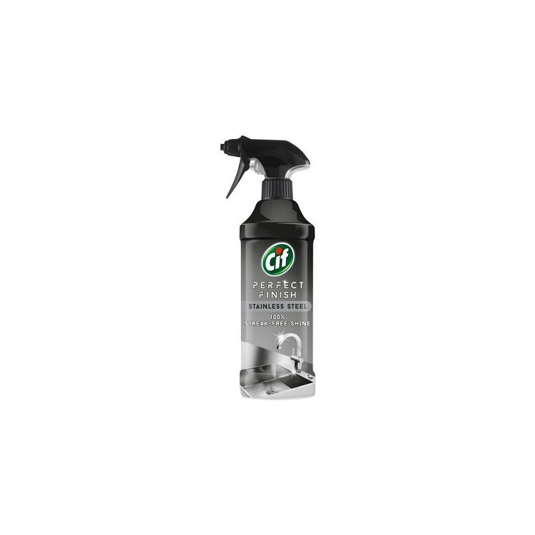 Detergent lichid pentru inox 435ml, CIF Inox