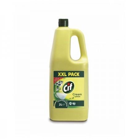 Detergent crema non-abraziva 2l, CIF Professional Lemon