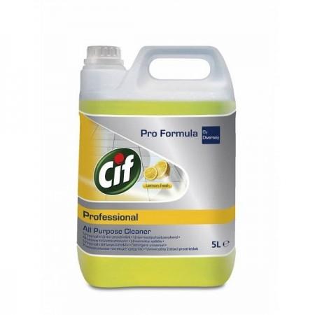 Detergent lichid universal 5l, CIF Professional Lemon Fresh