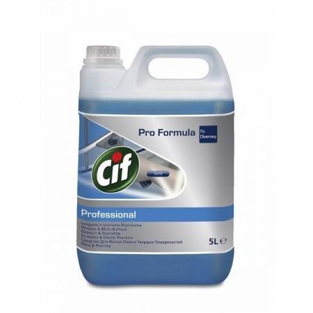Detergent lichid pentru geamuri si suprafete 5l, CIF Professional