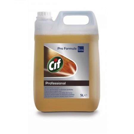 Detergent lichid pentru suprafete din lemn 5l, CIF Professional