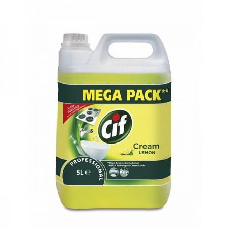 Detergent crema non-abraziva 5l, CIF Professional Lemon