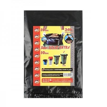 Saci menajeri 240l 10 buc/set, OTI Solid Extra