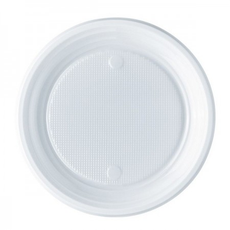 Farfurii plastic desert 50 buc/set, OTI Economic