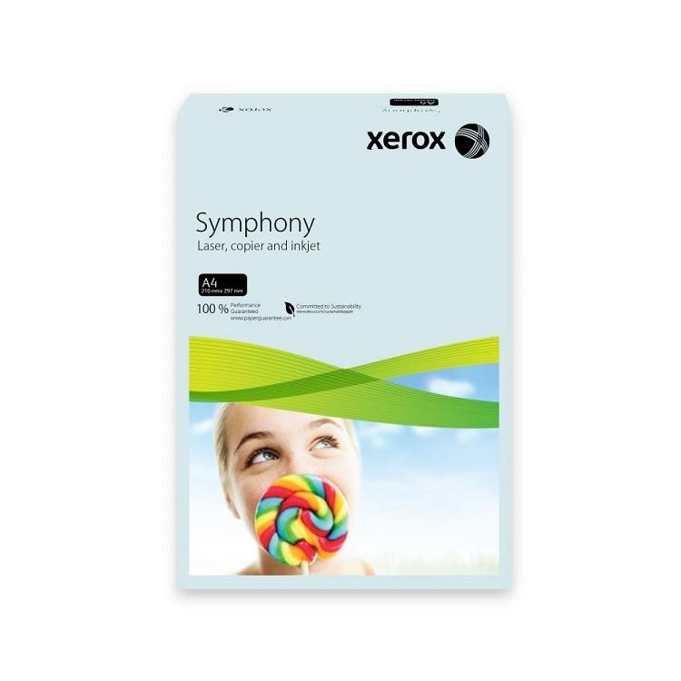 Carton A4 160g/mp 250 coli/top albastru pal, XEROX