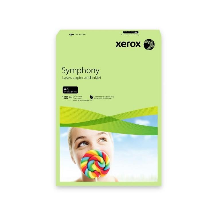 Carton A4 160g/mp 250 coli/top verde pal, XEROX