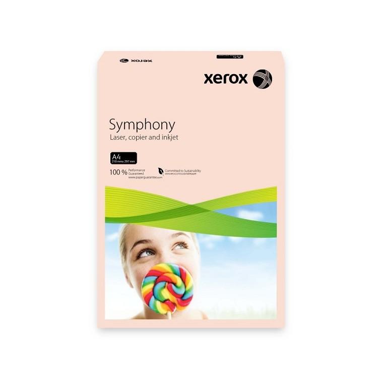 Hartie copiator A4 80g/mp 500 coli/top salmon pal, XEROX Symphony