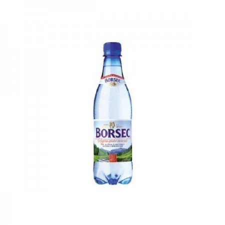 Apa minerala carbogazoasa 0.5 litri 12 buc/bax, BORSEC