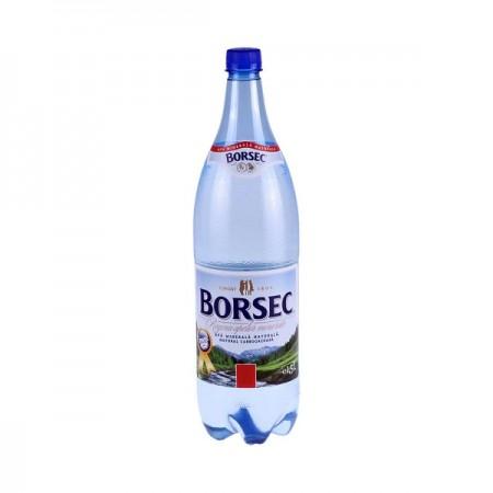Apa minerala carbogazoasa 1.5 litri 6 buc/bax, BORSEC