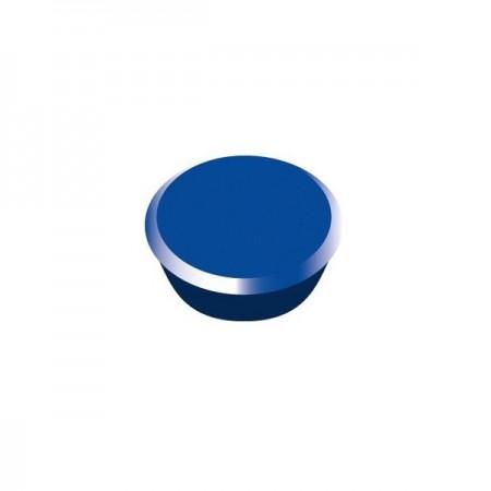 Magneti tabla 13mm diametru plastic albastru 10 buc/set, ALCO