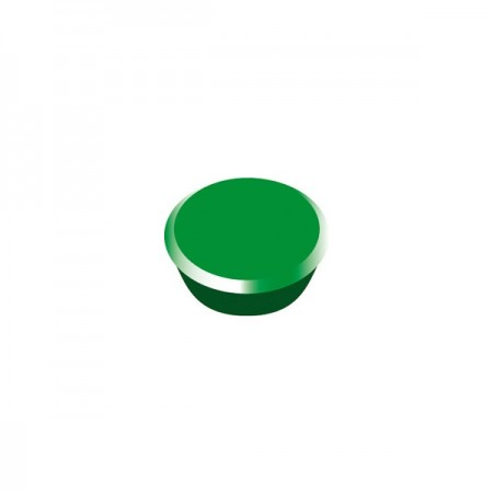 Magneti tabla 13mm diametru plastic verde 10 buc/set, ALCO