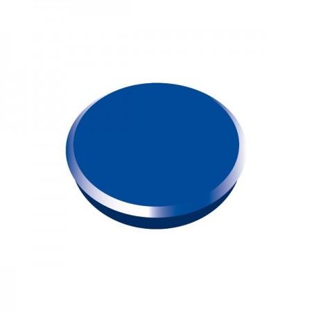 Magneti tabla 24mm diametru plastic albastru 10 buc/set, ALCO