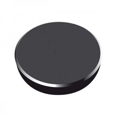Magneti tabla 38mm diametru plastic negru 10 buc/set, ALCO