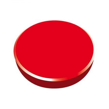 Magneti tabla 38mm diametru plastic rosu 10 buc/set, ALCO