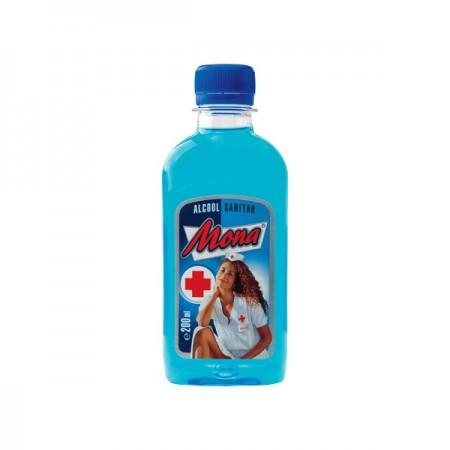 Alcool sanitar 70% vol. 200ml, MONA