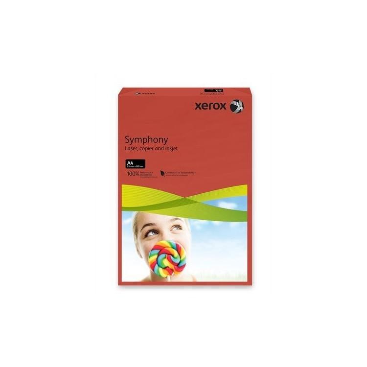 Carton A4 160g/mp 250 coli/top rosu intens, XEROX Symphony