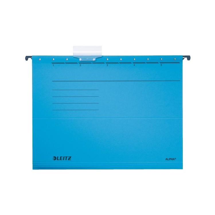 Dosar suspendabil albastru, LEITZ Alpha Standard