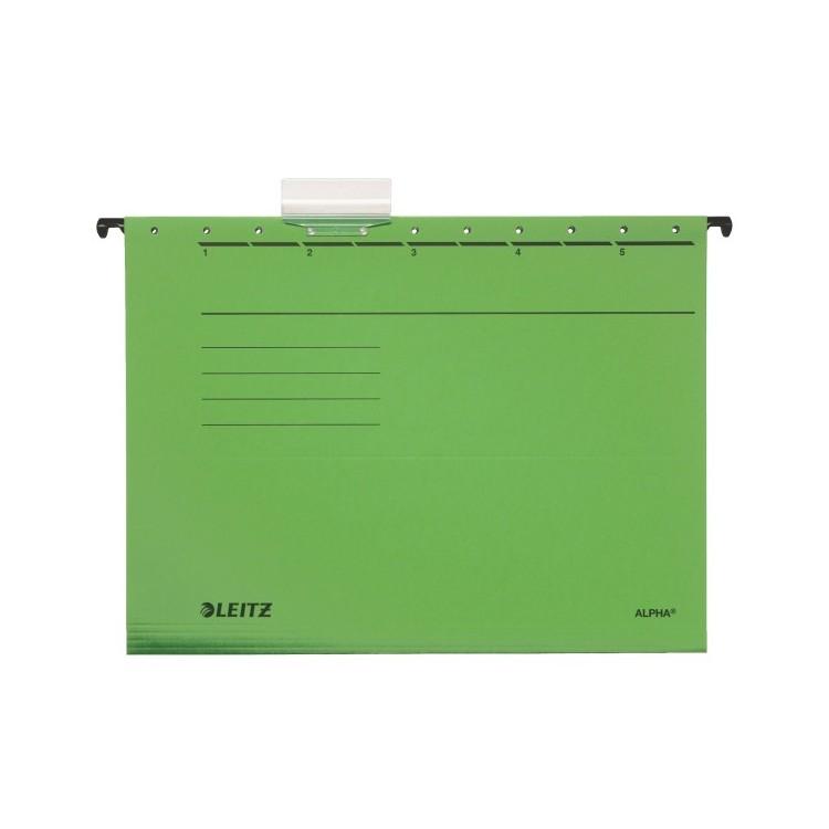 Dosar suspendabil verde, LEITZ Alpha Standard