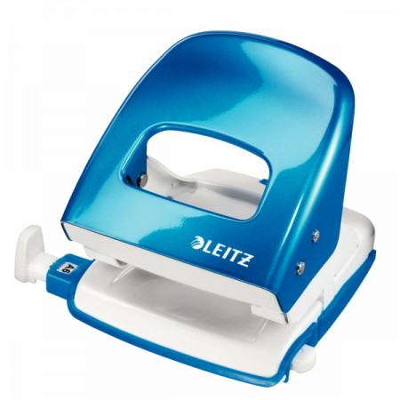 Perforator 30 coli albastru metalizat, LEITZ 5008