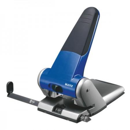 Perforator 65 coli albastru, LEITZ 5180