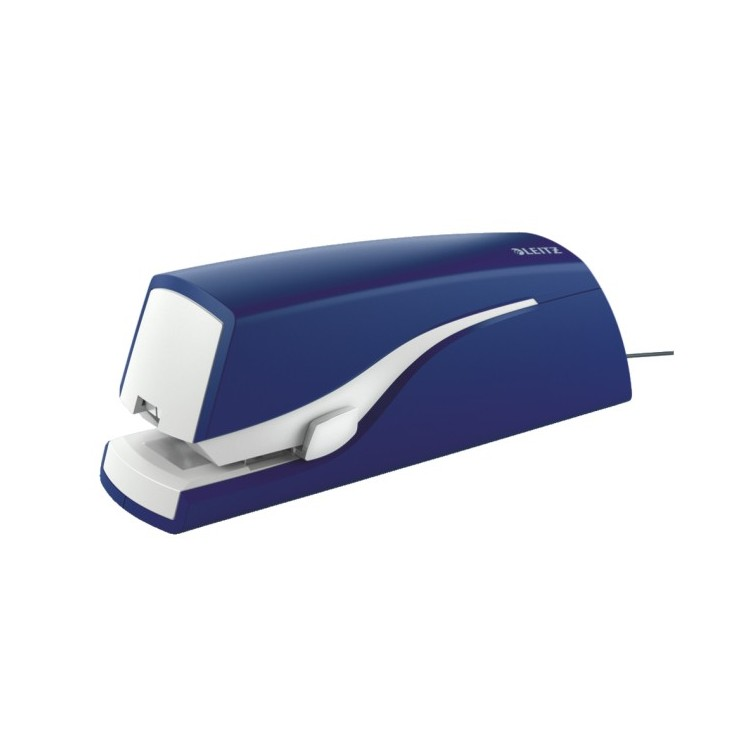 Capsator electric 24/6 20 coli (cu adaptor) albastru, LEITZ 5533