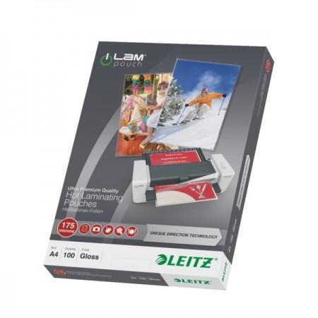 Folie pentru laminare A4 175mic 100 buc/set, LEITZ UDT
