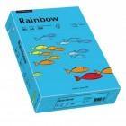 Hartie copiator A4 80g/mp 500 coli/top albastra intens, RAINBOW