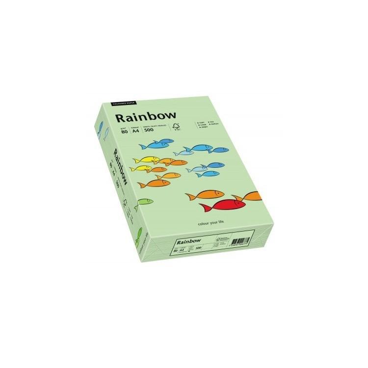 Hartie copiator A4 80g/mp 500 coli/top vernil, RAINBOW