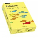 Carton A4 160g/mp 250 coli/top galben, RAINBOW