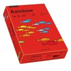 Carton A4 160g/mp 250 coli/top rosu, RAINBOW