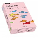 Carton A4 160g/mp 250 coli/top roz pal, RAINBOW