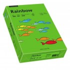 Carton A4 160g/mp 250 coli/top verde intens, RAINBOW