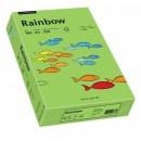 Carton A4 160g/mp 250 coli/top verde, RAINBOW
