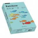 Carton A4 160g/mp 250 coli/top albastru, RAINBOW
