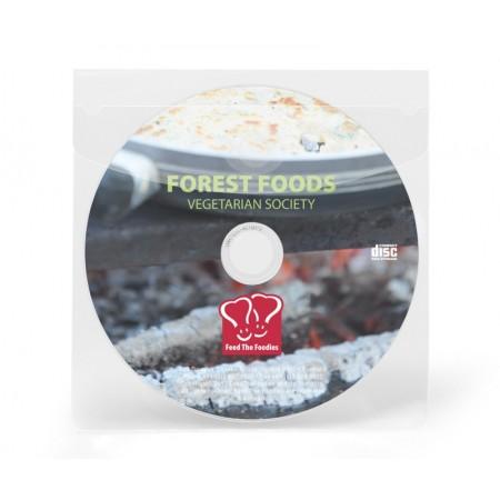 Buzunar adeziv cu clapa pentru CD/DVD 126x126mm 6 buc/set, PROBECO
