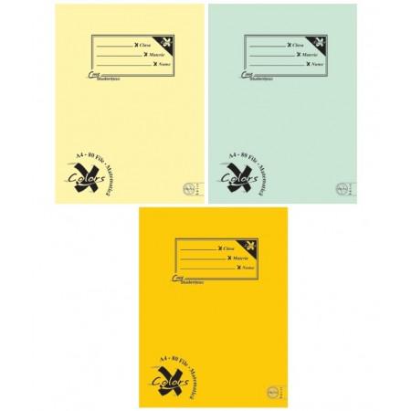 Caiet A4 80 file matematica, PIGNA Basic