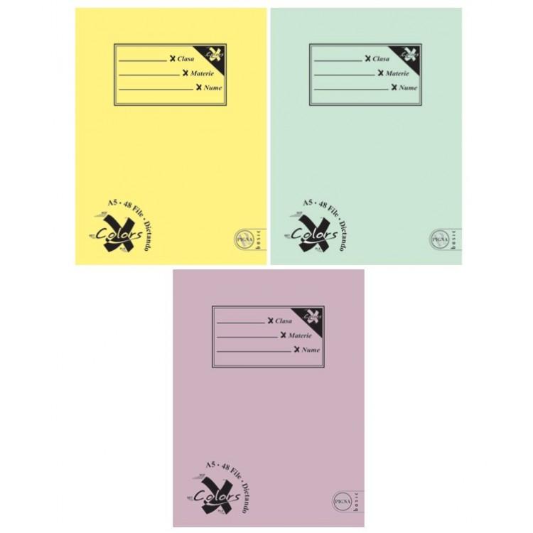 Caiet A5 48 file dictando, PIGNA Basic