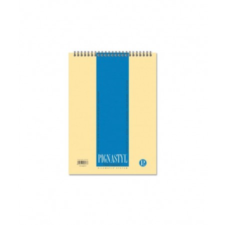 Blocnotes A4 cu spira 60 file matematica, PIGNA Styl