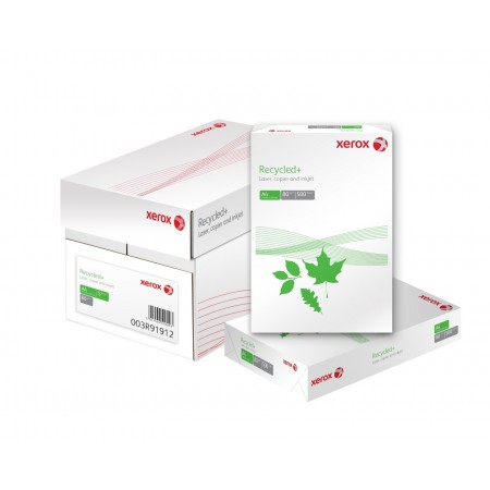 Hartie copiator A4 80g/mp 500 coli/top alba, XEROX Recycled+